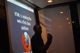 Hezron's HTML 5 Presentation at kLab